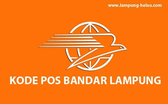 kode pos bandar lampung