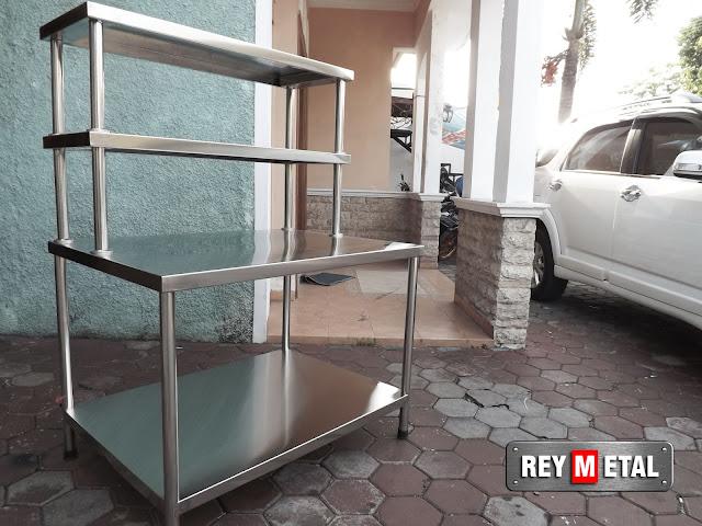 Meja Dapur Stainless steel di Tegal Jawa Tengah