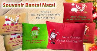 Bantal Natal Untuk Souvenir Natal