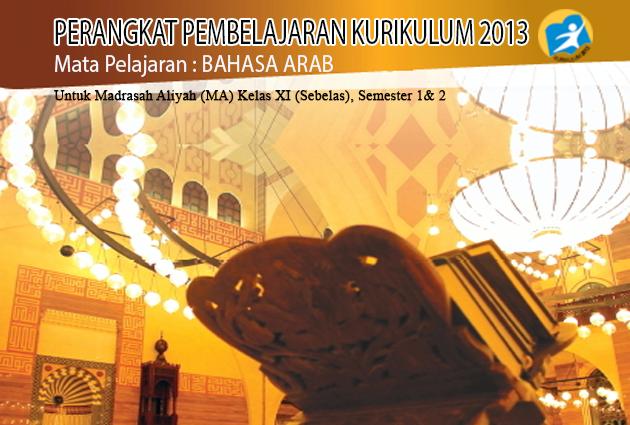File Pendidikan RPP BAHASA ARAB K-13 REVISI KELAS XI SMA/MA (TERBARU, TERLENGKAP,GRATIS)