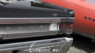 Plymouth Belvedere GTX Rear Badge