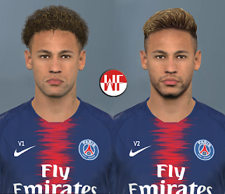 PES 2017 Faces Neymar Jr by WER Facemaker