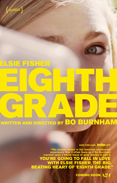 Eighth Grade 2018 A24 movie poster Bo Burnham Elsie Fisher