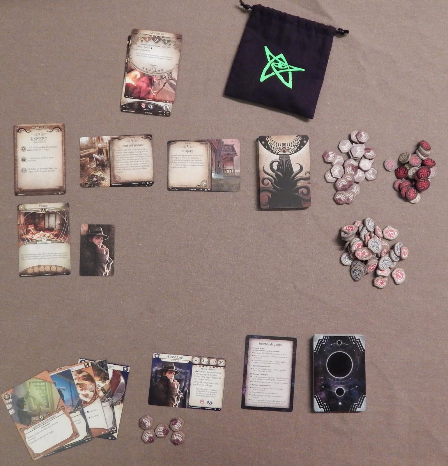 Susurros desde la Oscuridad: Arkham Horror: El juego de cartas