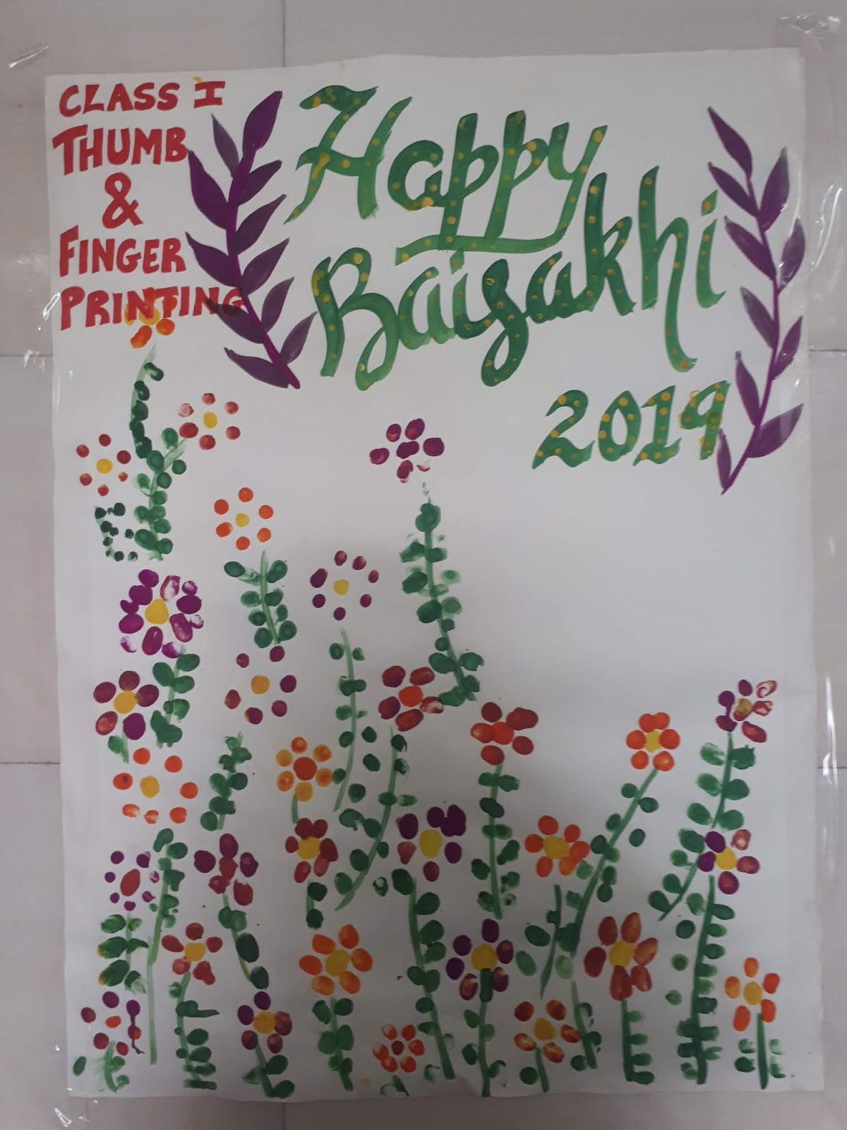 Little Champs Baisakhi Activity
