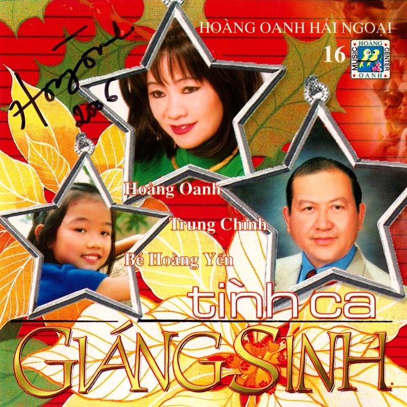Hoàng Oanh CD16 - Tình Ca Giáng Sinh (NRG) + bìa scan mới