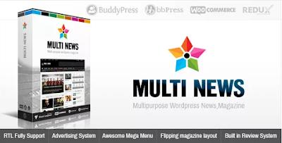 download wordpress theme premium gratis , Download Multinews v2.2.4 Multi Purpose WordPress News Magazine Theme Free