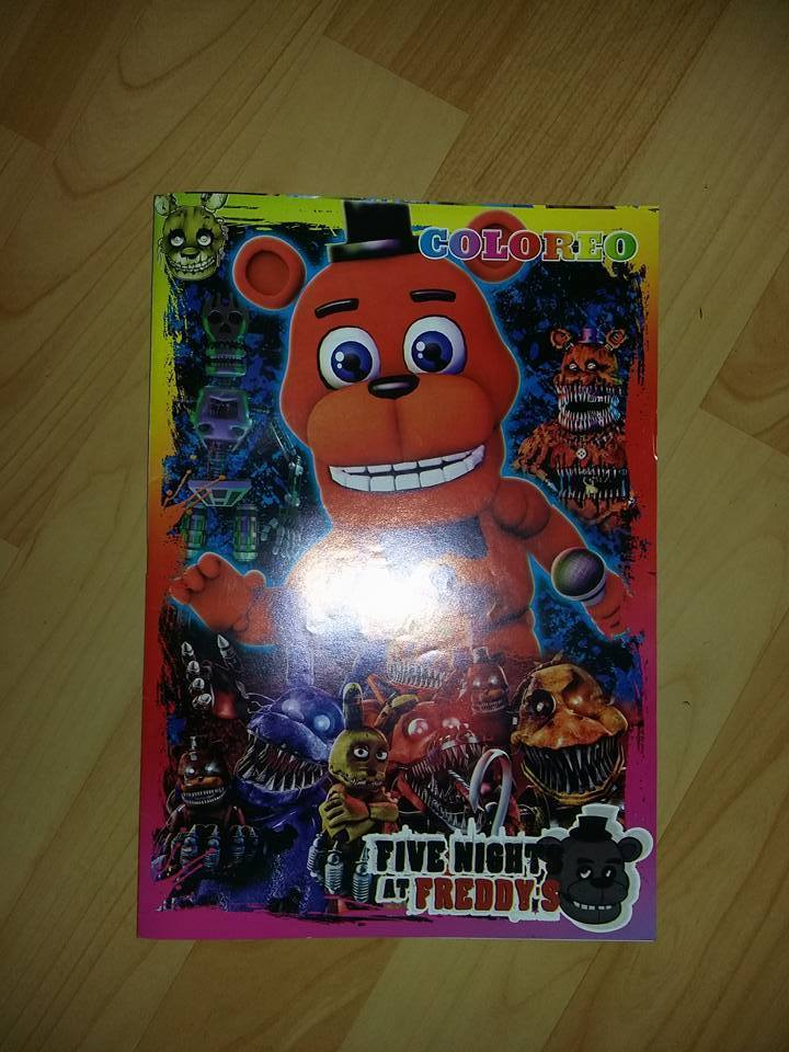 someone made a fnaf coloring book the cover like most packages ive been seeing has left me completely dumbstruck fnaf world freddy is surrounded by a - Fnaf Coloring Book