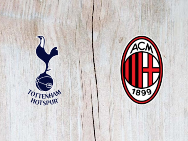 Watch Tottenham Hotspur vs AC Milan  Highlights - 01 August 2018