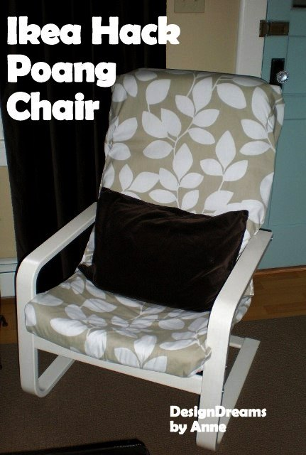 DesignDreams by Anne Ten Easy Ikea Hacks Before amp After : IkeaHack PoangChair from designdreamsbyanne.blogspot.com size 431 x 640 jpeg 56kB