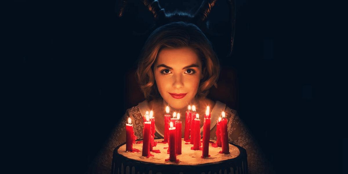 Poster promociomal de de Chilling Adventures of Sabrina
