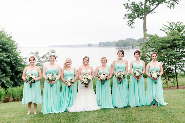 Water's Edge Wedding in Belcamp, MD Photographed by Heather Ryan Photography