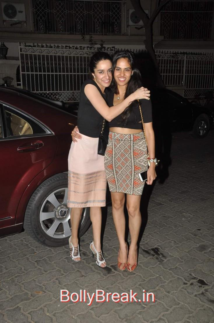 Shraddha Kapoor, Celebs  at Karim Morani's Birthday Bash