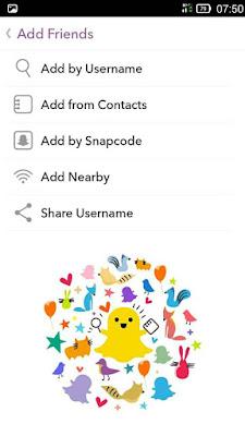 Cara Menggunakan Snapchat Mudah