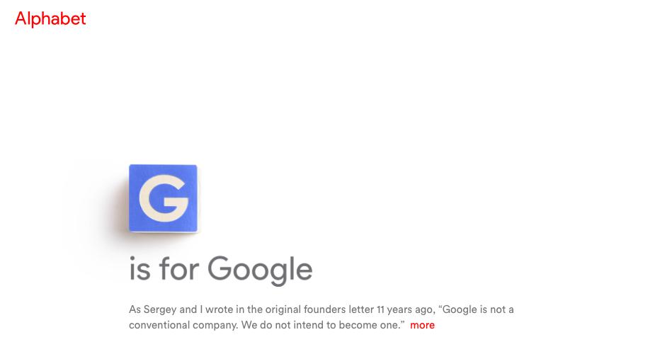 Google改組大動作,但Alphabet撞名BMW子公司?!