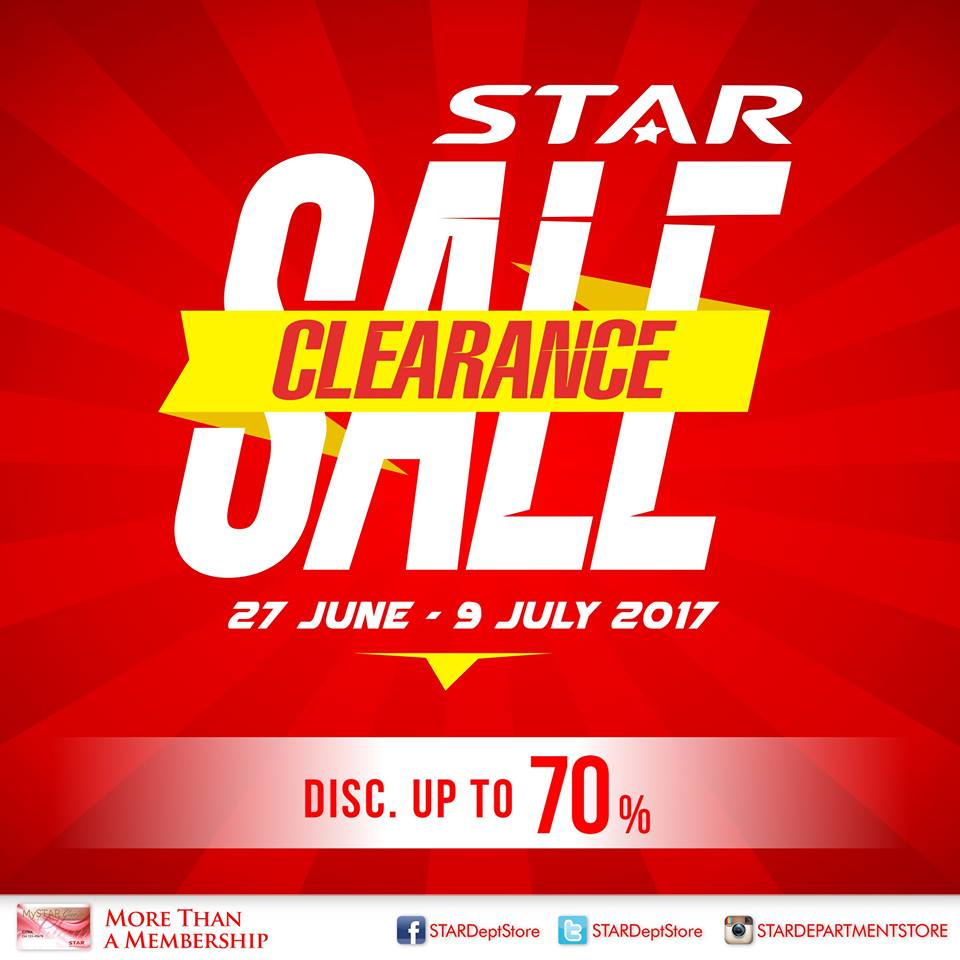 Promo STAR Department Store Periode 27 Juni – 9 Juli 2017