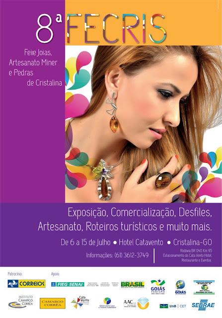 8ª FECRIS será realizada em Cristalina Goiás - Brasil, venha participar deste evento