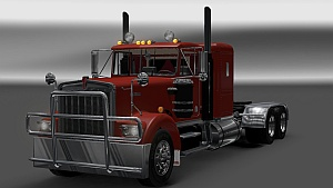 Kenworth W900A 8V92 Engine sound V6 by Kriechbaum