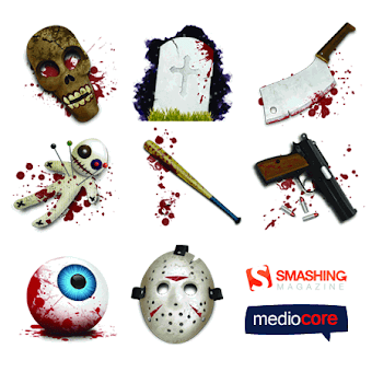 Halloween Horror Icons by mediocore.cz