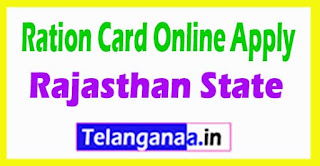 Ration Card Search Rajasthan State