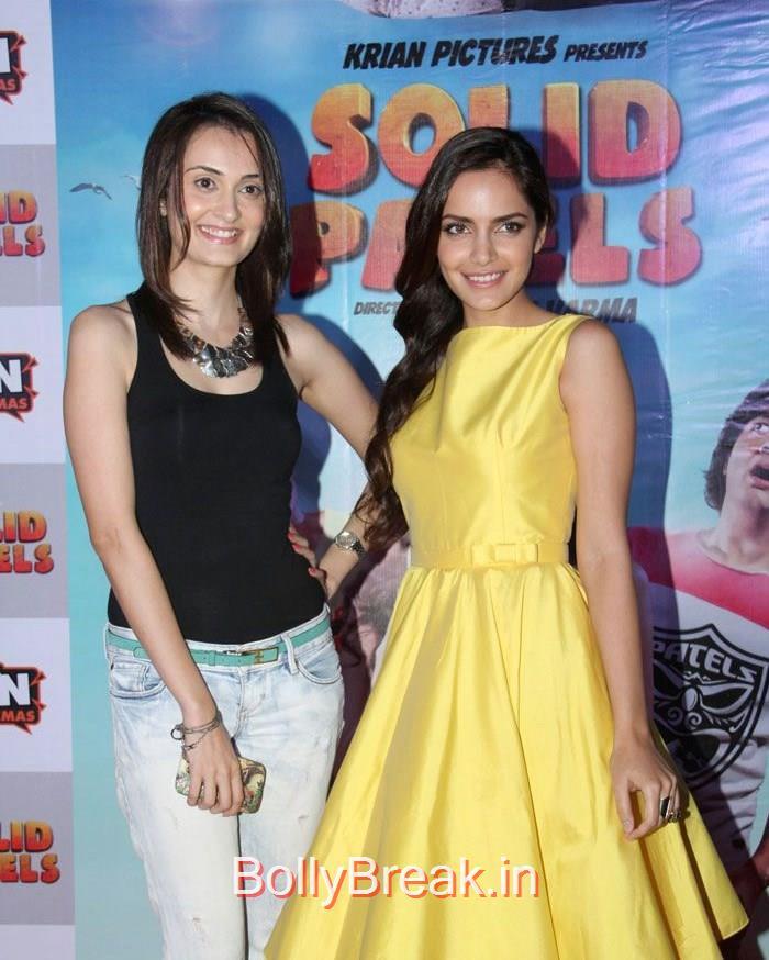 Vaishali Desai, Shazahn Padamsee, Vaishali Desai, Shazahn Padamsee hot Pics from 'Solid Patels' Movie Trailer Launch