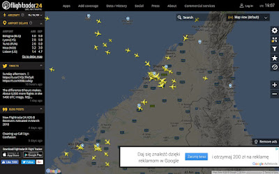 Dubaj - ruch lotniczy