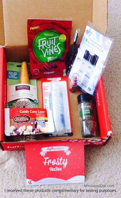What Was In The Influenster Frosty VoxBox | A Relaxed Gal