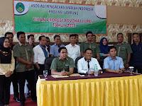 DPW APSI Lampung Menggelar Ujian Profesi Advokat (UPA)