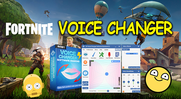 Fortnite voice changer