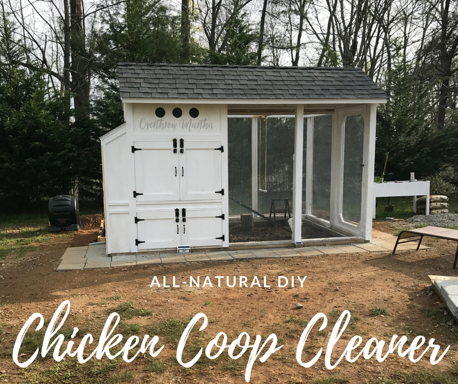 DIY All-Natural Chicken Coop Cleaner
