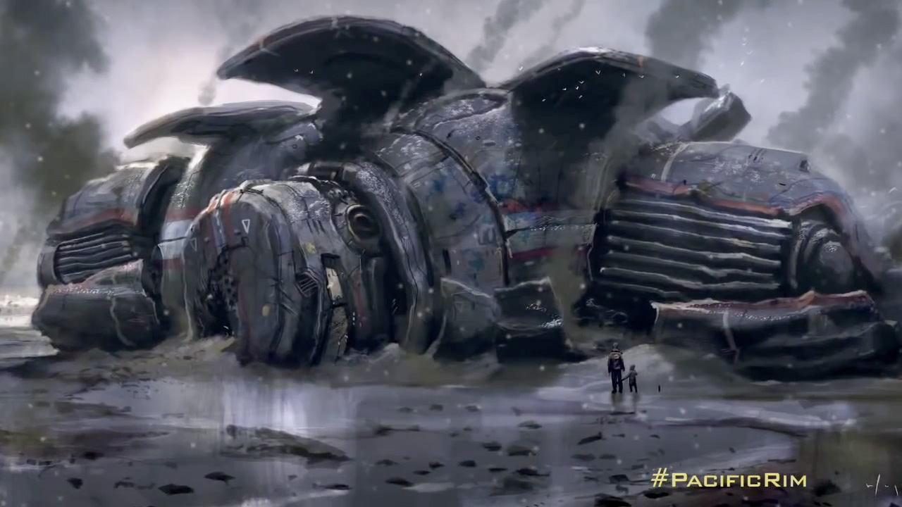 The Geeky Nerfherder: Movie Poster Art: 'Pacific Rim' (2013) Pacific Rim Jaeger Concept Art