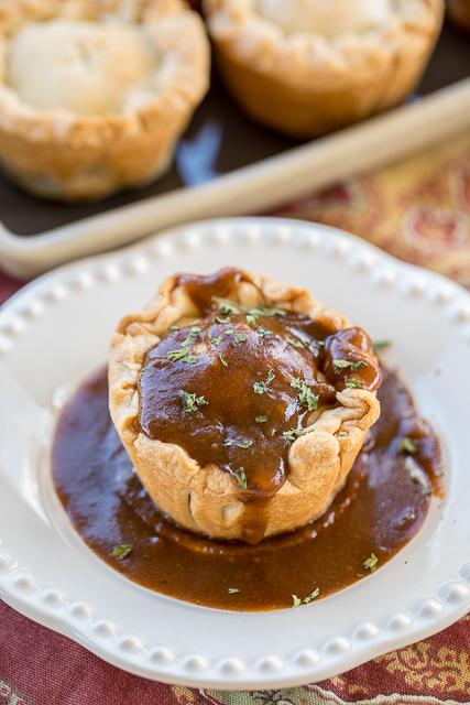 Steak & Ale Pies - Plain Chicken