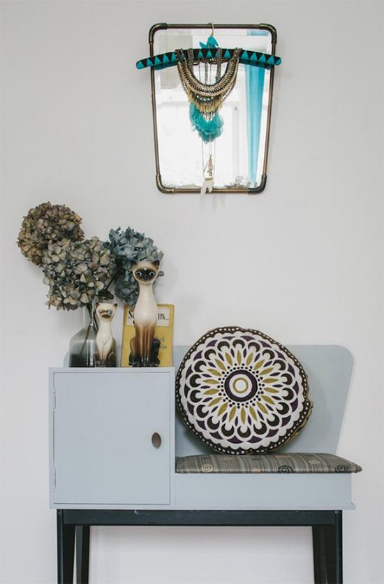 espelho vintage, espelho, vintage, decoracao bonita