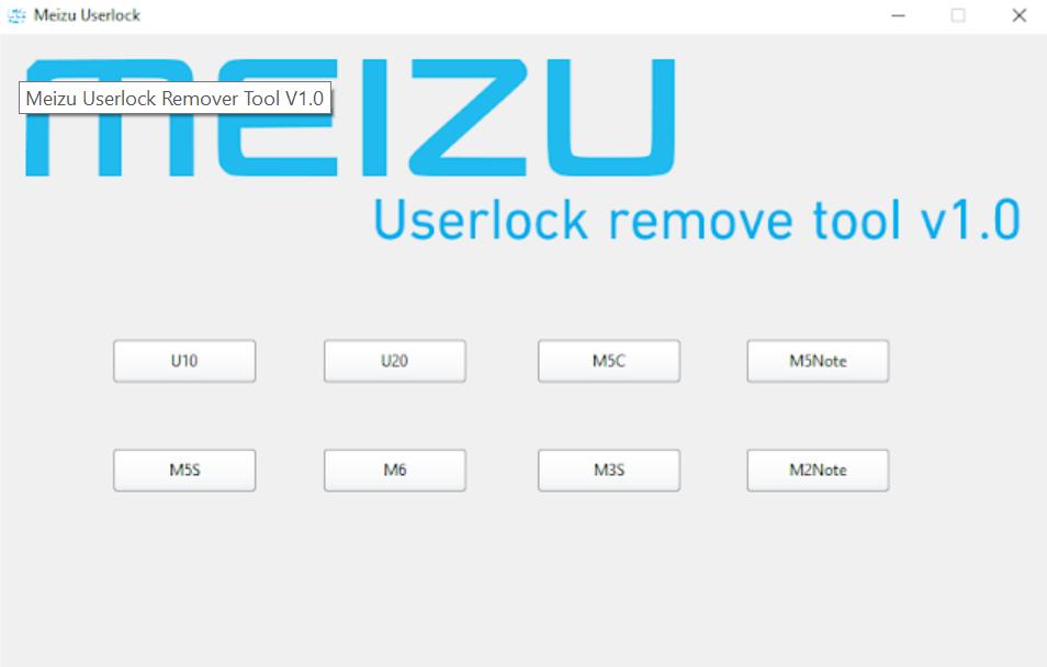 Meizu Userlock Remover Tool V1 0 Latest Version Free