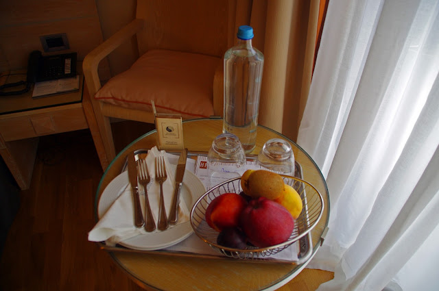 The Herodion Hotel Welcome Fruit and Water