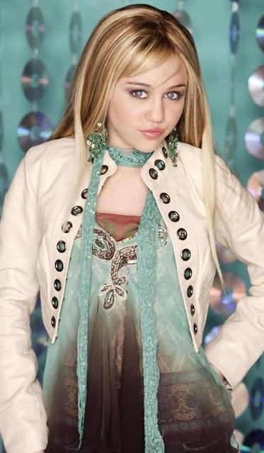 Foto de Miley Cyrus muy joven