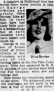 Olive Borden George O'Brien