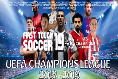 Download FTS 19 Mod UEFA Champions League Terbaru 2019