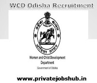 WCD Odisha Recruitment