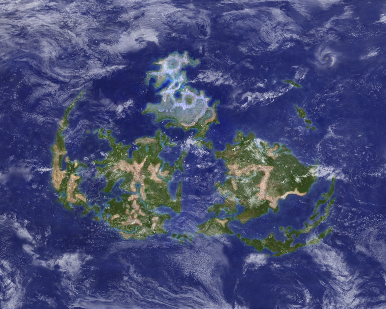 sephirosuy - Life is RPG: Final Fantasy VII world map \