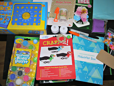 Lucky Gecko Midwinter Activity Box