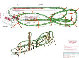 New Coaster Plans don't utilize empty lot.