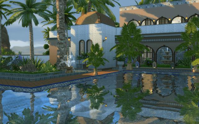 villa marocaine sims 4