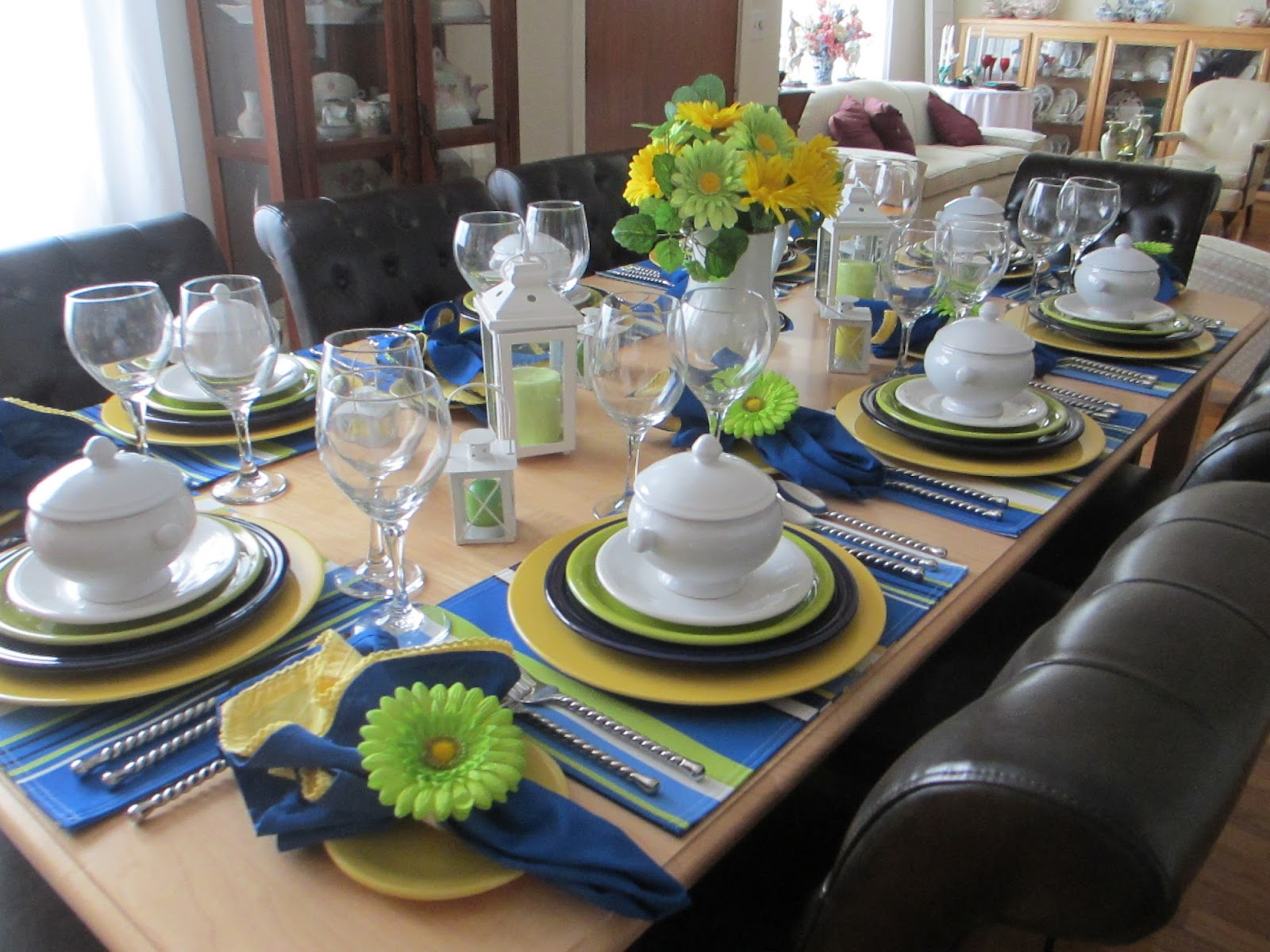The Welcomed Guest Fiestaware Table To Quot Beat The Winter
