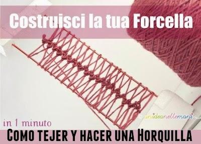 Como Tejer Crochet con Horquilla Tutoriales