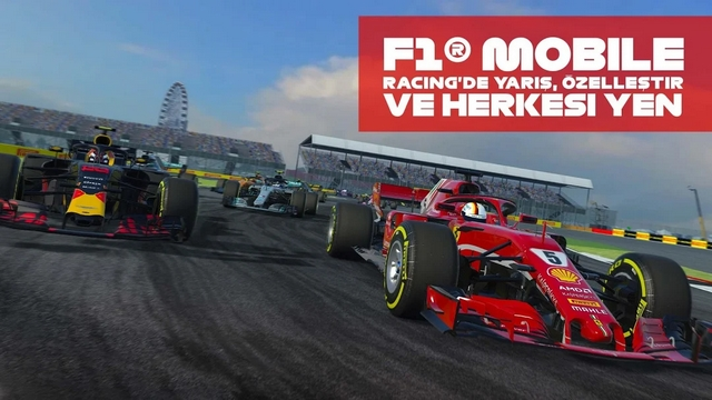 f1 mobile racing hile apk