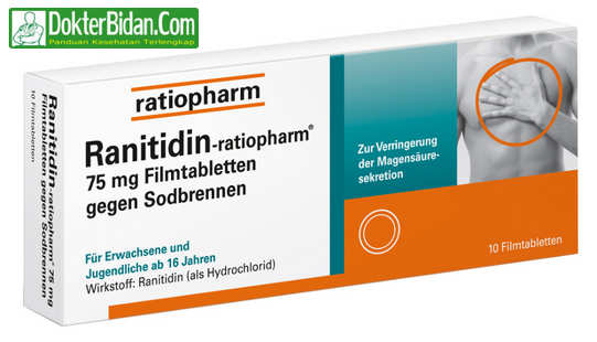 Ranitidin - Efek Samping Dosis Dan Manfaat Sebagai Obat Gangguan Pencernaan