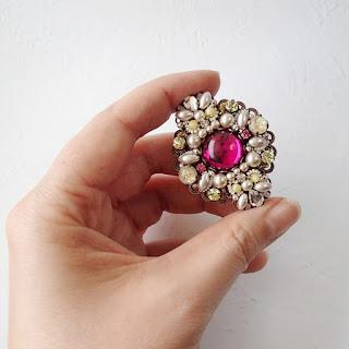 vintage jewellery, sparkly, fantasy jewelry, mdmButiik