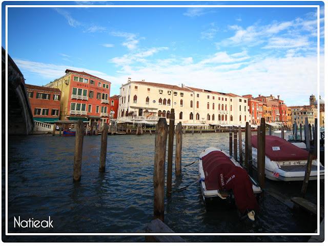 Vue de la gare de Venise, Italie