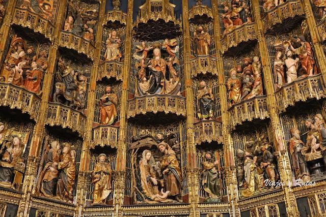 Retablo Mayor de la Iglesia de Santa María de Dueñas